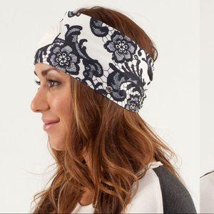 Lululemon lace Laceoflage headband headhugger ❤️🍋